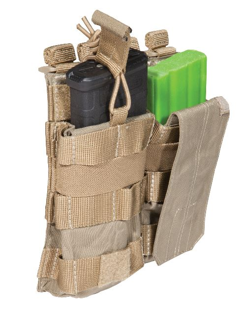 5.11 AR /G36 Double Bungee with Cover - Sandstone