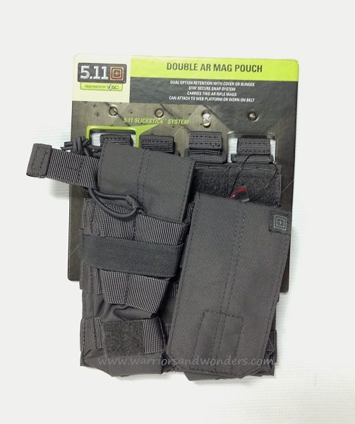 5.11 AR /G36 Double Bungee with Cover - Storm Grey