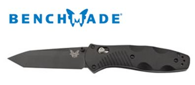 Benchmade 583BK Barrage Tanto Black Assisted Opening