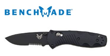 Benchmade 585SBK Barrage Mini Black ComboEdge