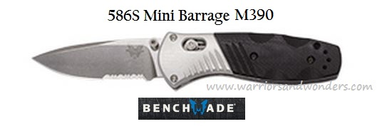 Benchmade 586S Mini Barrage Osborne Assisted Opening Online Only