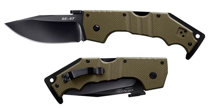 Cold Steel AK-47 Folder CPM S35VN OD Green Limited Edition 58MVG