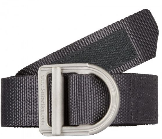 "5.11 Trainer Belt - 1 1/2"" Wide - Charcoal"