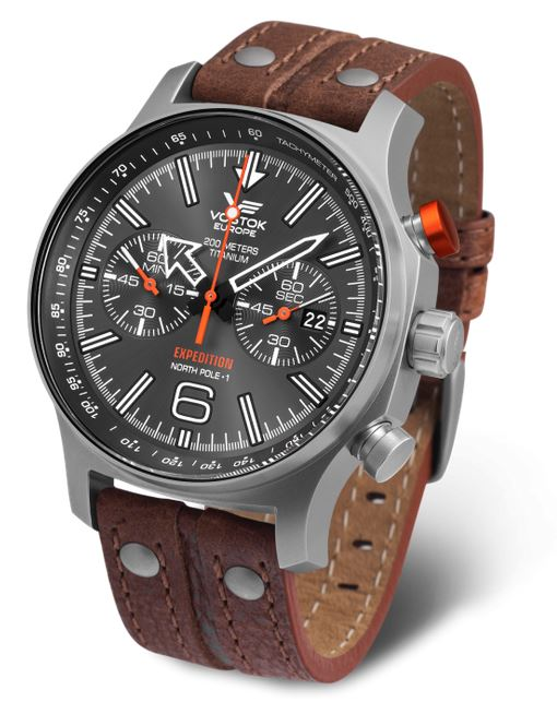 Vostok Europe Expedition North Pole1 Titanium Chronograph H298