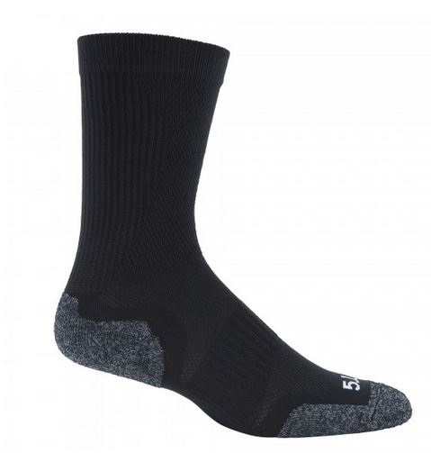 5.11 Slip Stream Crew Sock - Black [Clearance Size Large]