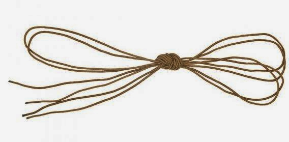 5.11 Braided Nylon Replacement Shoelaces - Dark Coyote