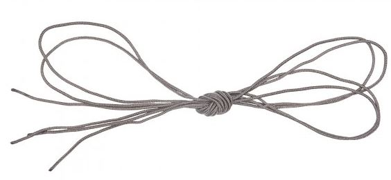 5.11 Braided Nylon Replacement Shoelaces - Storm Grey