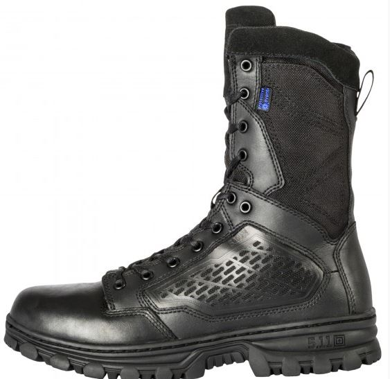 "5.11 EVO 8"" Waterproof Boot with Sidezip - Black"