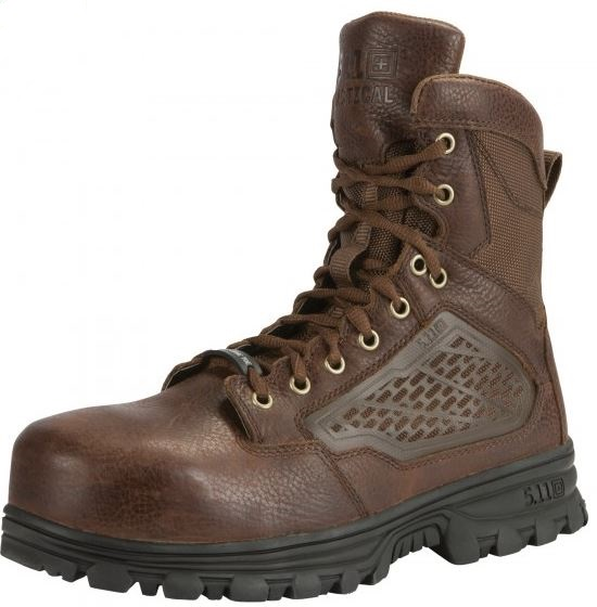"5.11 EVO 6"" CST Boot with Sidezip - Bison Brown"