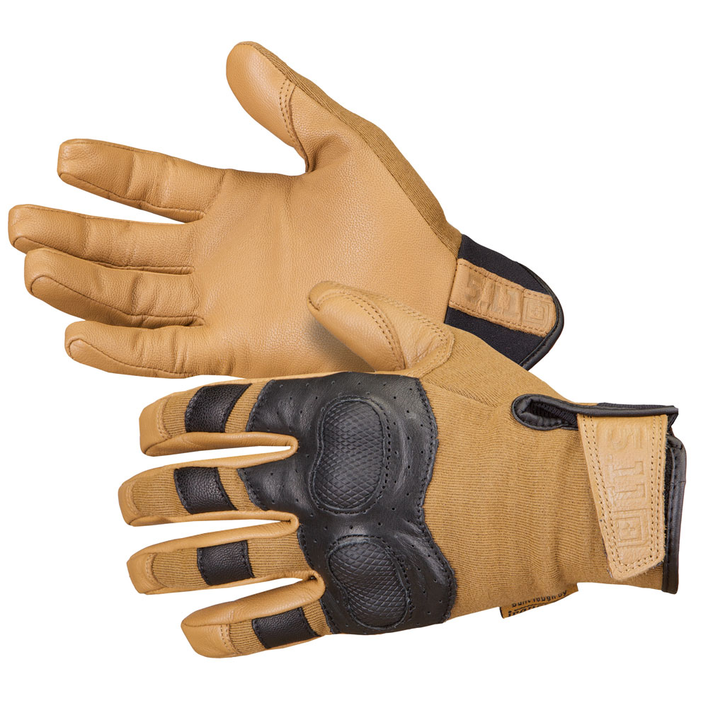 5.11 Hard Time Gloves - Coyote [Clearance]