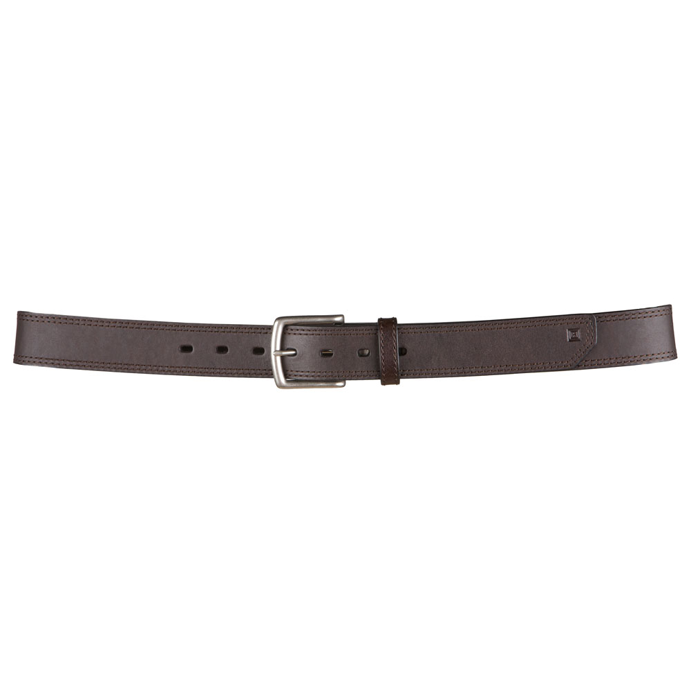 "5.11 Leather Arc Belt - 1 1/2"" Wide - Brown"