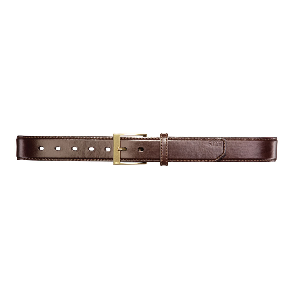 5.11 Leather Casual Belt - Brown