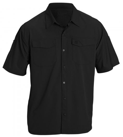 5.11 Freedom Flex Woven Shirt S/S - Black