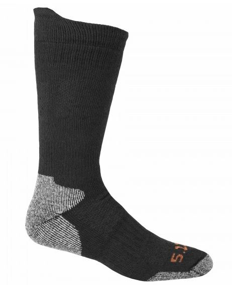 5.11 Cold Weather Crew Sock - Black [Clearanc S/M]