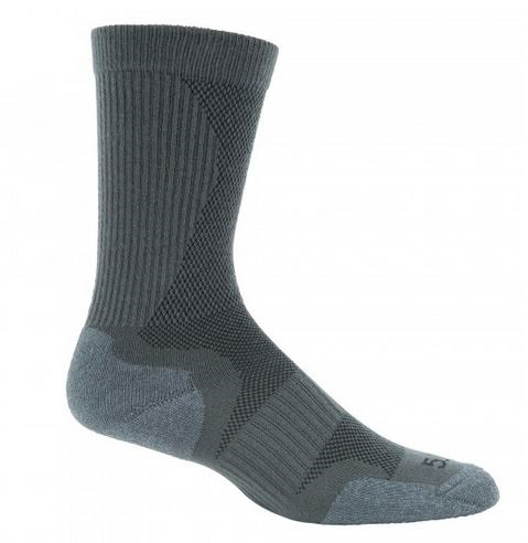 5.11 Slip Stream Crew Sock - Gun Metal