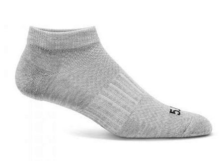 5.11 PT Ankle Socks 3-Pack - Heather Grey