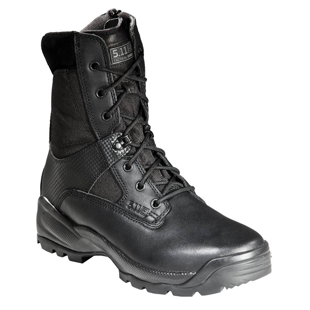 "5.11 A.T.A.C. 8"" Side Zip Boot - Black"