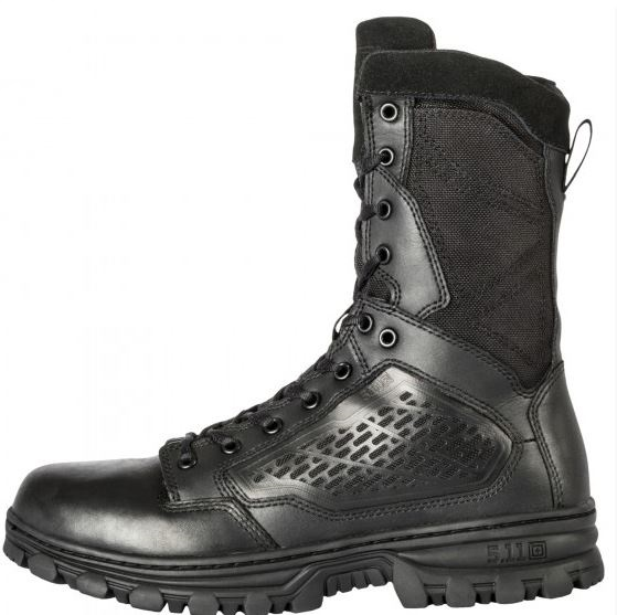 "5.11 EVO 8"" Boot with Sidezip - Black [Clearance Limited Sizes]"