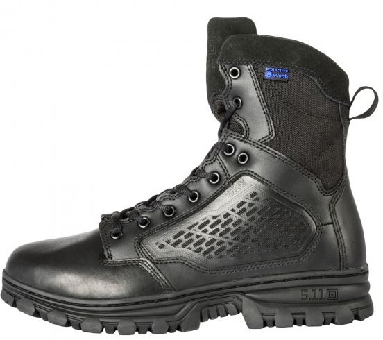"5.11 EVO 6"" Waterproof Boot with Sidezip - Black"