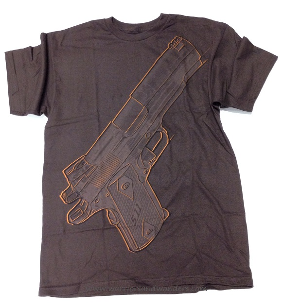 5.11 Sketched 1911 T-Shirt - Brown