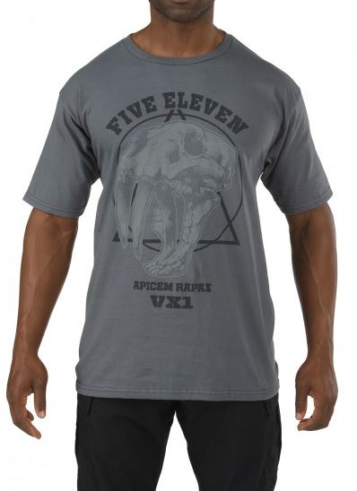 5.11 Apex Predator T-Shirt - Charcoal