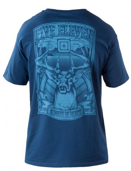 5.11 Trophy T-Shirt - Harbor Blue [Clearance Size Small]