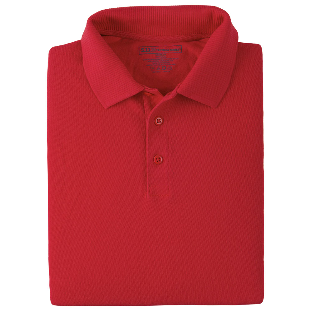 5.11 Professional L/S Polo - Range Red
