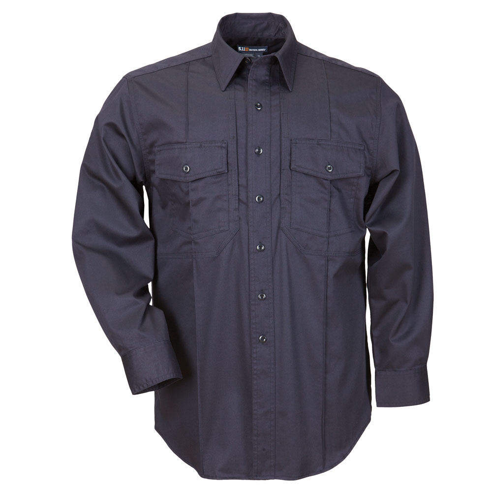 5.11 Men's L/S Station Shirt B Class Fire Navy [Size XL]
