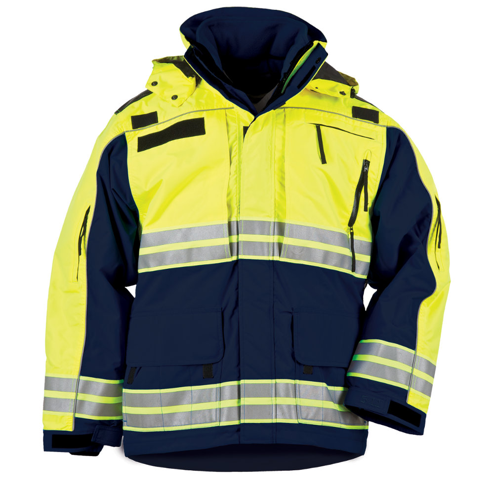 5.11 Responder Hi-Vis Parka, Men's - Dark Navy (Online Only)