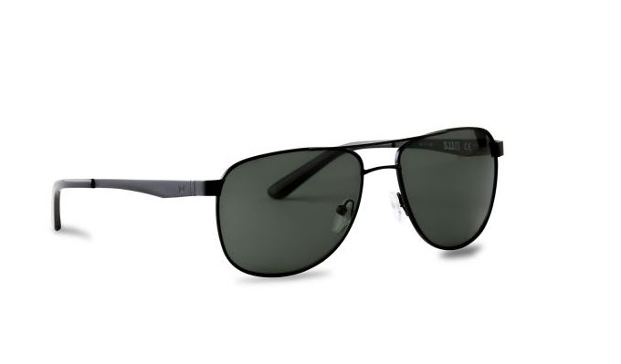 5.11 Tomcat Aviator Polarized Sunglasses - Black [Clearance]