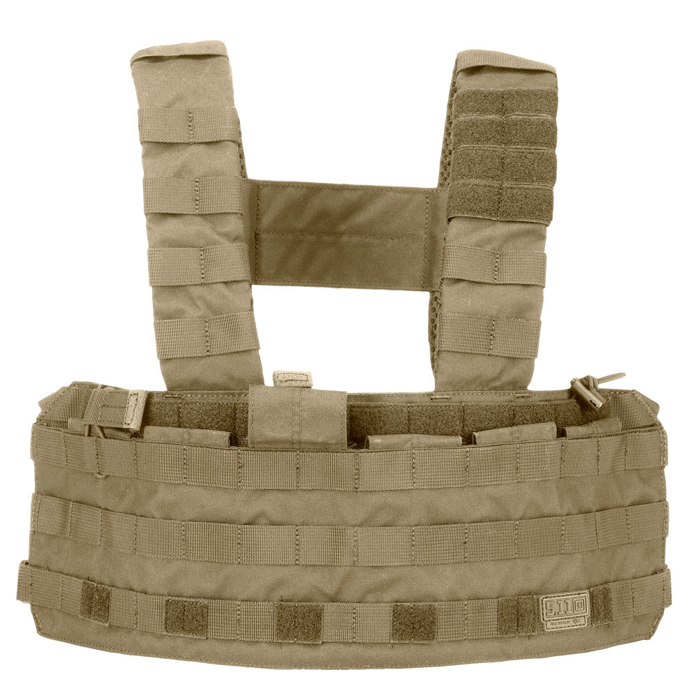 5.11 TacTec Chest Rig - Sandstone