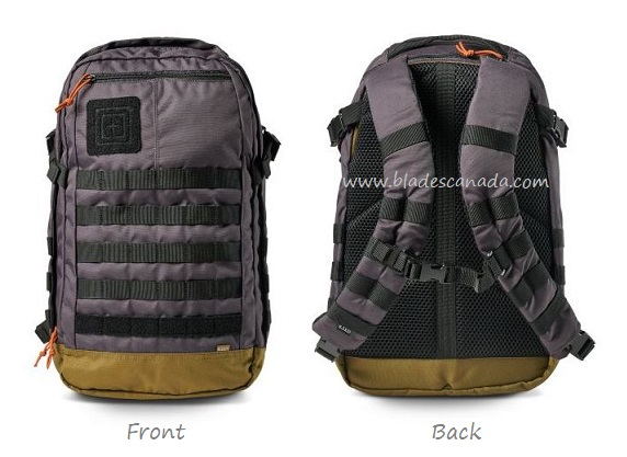 5.11 Rapid Origin Backpack - Stokehold Grey