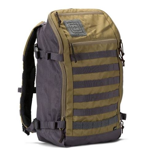 5.11 Rapid Quad Zip Backpack - Claymore