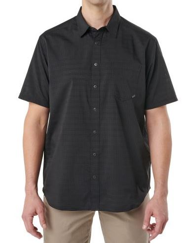 5.11 Aerial Short Sleeve Shirt - Black