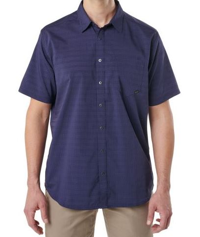 5.11 Aerial Short Sleeve Shirt - Eclipse Blue