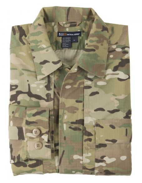 5.11 TDU Shirt L/S - Multicam [Clearance Size 2XL/XL]
