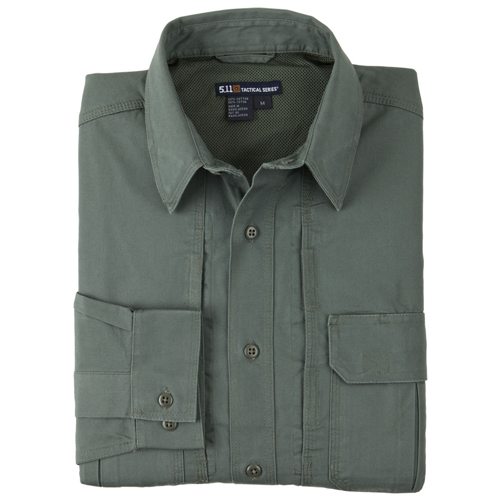 5.11 Tactical Shirt L/S - OD Green [Clearance Size XL]