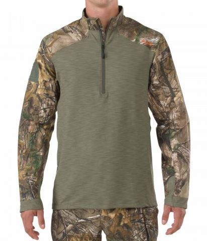5.11 Rapid Response Quarter Zip - Realtree Xtra