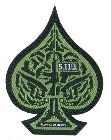 5.11 Tactical Patch Spade - Olive Green