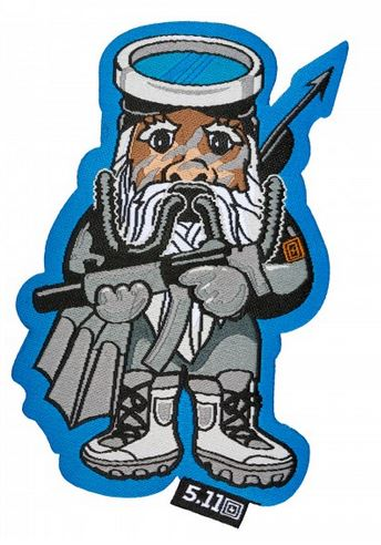 5.11 Tactical Patch Navy Seal Gnome