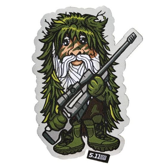 5.11 Tactical Patch Sniper Gnome