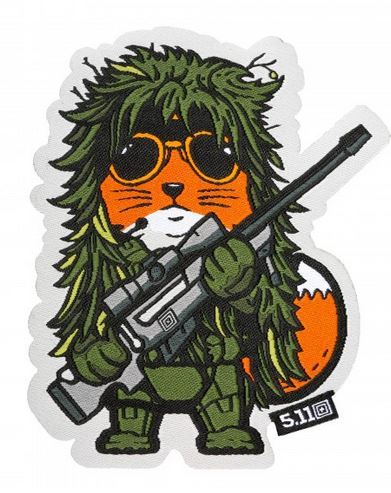 5.11 Tactical Patch Fox Sniper