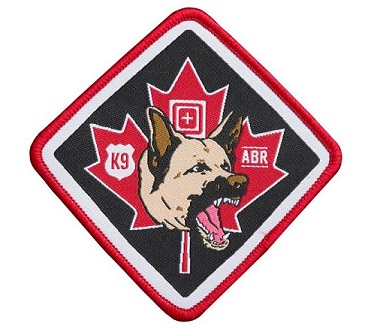 5.11 Tactical K9 Patch - CANADIAN EXCLUSIVE