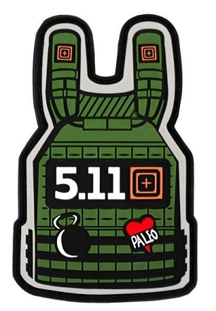 5.11 Tactical Plate Carrier Patch - Sage Green