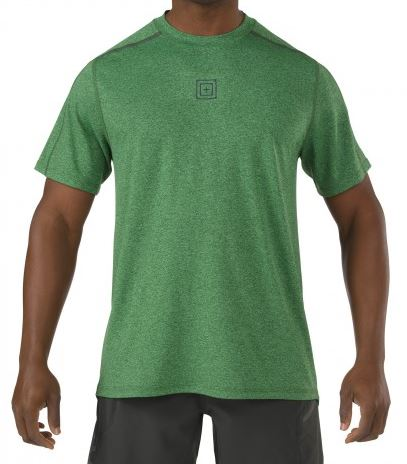 5.11 RECON Triad Top Short Sleeve - Grid Iron Green