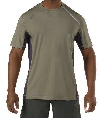 5.11 RECON Adrenaline Top Short Sleeve - Sage Green