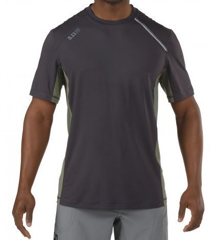 5.11 RECON Adrenaline Top Short Sleeve - Volcanic Grey