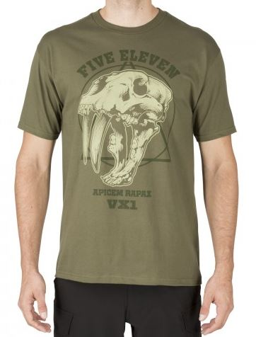 5.11 Apex Predator T-Shirt - Mil Green
