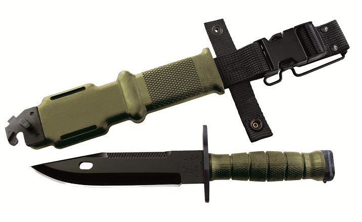 OKC 6220 490 M9 Bayonet and Scabbard OD