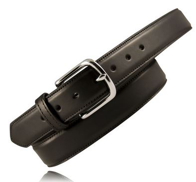 "Boston Leather 6450 1.5"" Feather Edge Dress Belt [Clearance]"